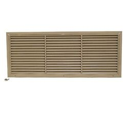 Dometic Boat A/c Vent Grille 217000756 | W/ Filter 31 3/4 Inch Tan