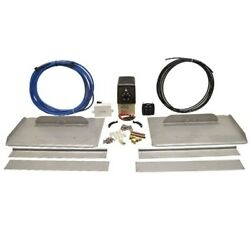 Bennett 18 1/4 X 11 3/4 Inch Stainless Steel Boat Trim Tab Kit No Actuators