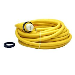 Carver 6916601 Marinco 6153sppx 65 Ft 50a 220v European Boat Shore Power Cable
