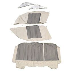 Larson Gs 209 Oyster Canvas Boat Camper Curtain Kit 0883092