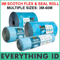 3m Scotch Flex And Seal Shipping Roll Packaging Roll Bubble Wrap Self Seal No Tape