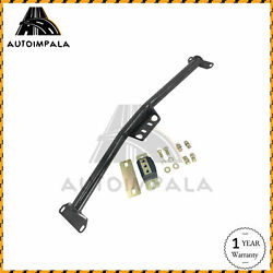 Tubular Automatic Trans Crossmember Black For 63-72 Chevy C10 Pickup Truck Th350