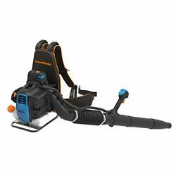 Lawnmaster Nptbl31ab No-pull Backpack Leaf Blower, Gas-powered With Electric Sta