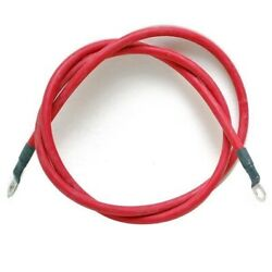 Boat Battery Cable   2 Awg 1/2 Inch Lug 22 Foot Red