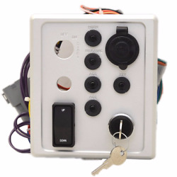 Forest River Boat Ignition Panel 240-05960-p | South Bay 900 W/ 2 Keys