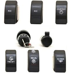 Carling Boat Switch Set | W/ 4 Position Ignition Set Of 24