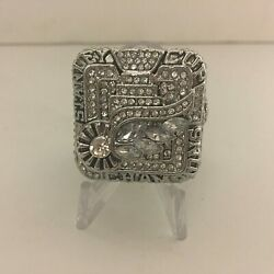2010 Stanley Cup Nicklas Lidstrom Detroit Red Wings Quality Replica Silver Ring