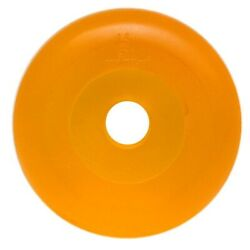 Husky 87161 Amber 3 1/2 Inch Poly Boat Roller End Cap