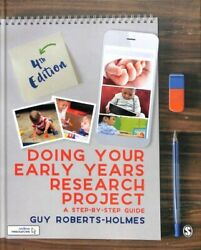 Doing Your Early Years Research Project A Step-by-step Guide Hardcover By ...