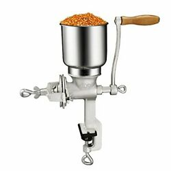 Cast Iron Hand Crank Manual Corn Grinder For Wheat Grains Coffee Nut Mill Tall