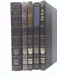 Great Books Of The Western World, Complete 54 Volume Set, 1982 Printing