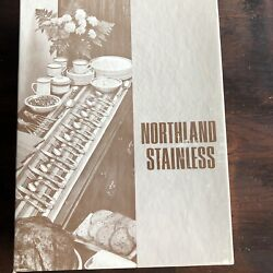 Northland Oneida Stainless Japan Spring Fever Flatware Service For 8 New