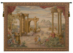 Vue Antique French Tapestry - Wall Art Hanging - Home Décor Item - 58x76 Inch