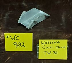Watling Coin Chute Only Raw For Antique Slot Machine Casting Ty31 Wc902
