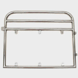 Avalon Pontoon Boat Bow Gate Door   29 3/8 X 24 Inch Stainless Steel