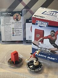 Heroclix Justice League Plastic Man Dp20-002 + Nifty Mailbox - New And In Hand