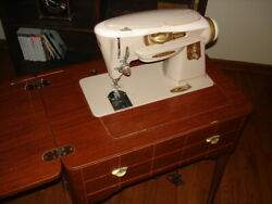 Singer 500a Rocketeer Sewing Machine With Table