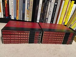 Vintage Man Myth And Magic Occult Complete Set Encyclopedia Reference Cavendish