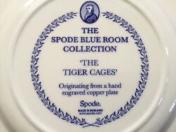 The Spode Blue Room Collection The Tiger Cages Dinner Plate