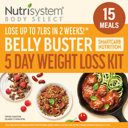 Body Select Belly Buster 5-day Weight Loss Kitdelicious Meals With Smartcarbht