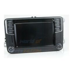 5k7035200l Vw Radio Composition Touch Cd Sd Bluetooth Jetta /
