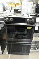 Samsung Nv51k7770dg 30 Black Stainless Double Wall Oven Nob 114289