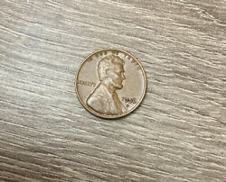 Rare Red 1956 Wheat Penny