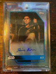 2021 Topps Star Wars May The Fourth Be With You Daisy Ridley Rey Autograph 2/5