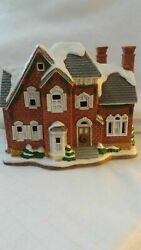 Lefton Colonial Christmas Village The Berkely House 11262 Holiday 1997 C2