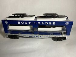 Lionel Airex Boat-loader With All 4 Boats