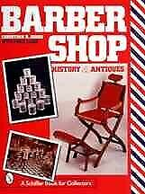 Barbershop History And Antiques Hardcover By Jones Christian R. Brand Ne...