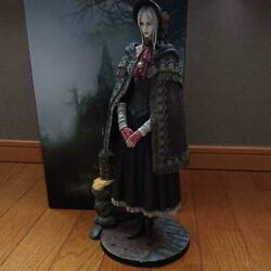 Gecco Bloodborne Doll 1/6 Scale Statue Height Approx.35cm Pvc Used Japan
