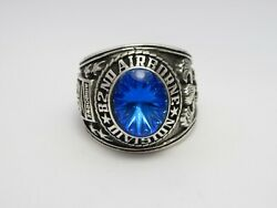 Sterling 925, 82nd Airborne Ring , Americas Guard ,army Ring,us Size 8.25, T222