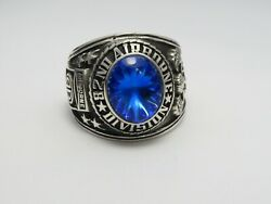 Sterling 925, 82nd Airborne Ring , Americas Guard , Army Ring,us Size 8.5, T219