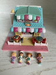 1993 Vintage Polly Pocket Pizza Place Pizzeria Pollyville Playset Complete