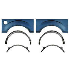 Wheel Arch And Inner And Outer Wheehouse Kit With Molding Holes For 09-14 Ford F150