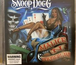 Snoop Dogg - Malice N Wonderland Cd 2009 Priority Records Excellent Condition