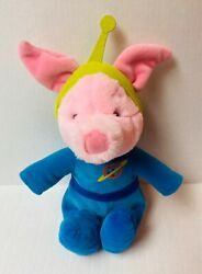 Winnie The Pooh Piglet Wearing Toy Story Alien Costume 12 Plush