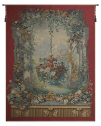 Rotonde De Armide French Tapestry - Wall Art Hanging - Home Décor - 80x56 Inch