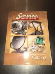 Vintage 1996 Service Merchandise Catalog Toys Electronics Home Gifts Jewelry +