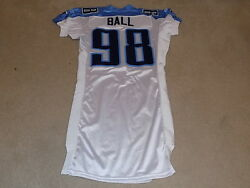 Dave Ball Game Jersey 2008 Tennessee Titans Ucla