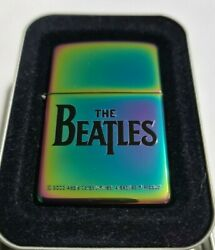 Zippo Windproof Collectible Spectrum Finish Lighter The Beatles 2003 New