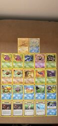 1st Edition Fossil Pokemon Trading Cards Nm Mint Condition