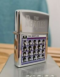 Zippo Windproof Collectible Lighter The Beatles A Hard Day's Night 1997 New