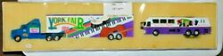 White Rose Collectibles 1993 York Fair Tractor Trailer And Bus Limited Edition