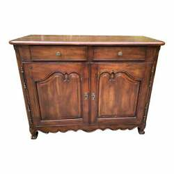 Vintage Bausman And Company Style French Entry Cabinet Or Server