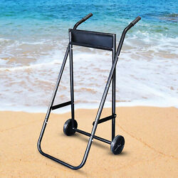 Boat Engine Outboard Motor Trolley Carrier Cart Trolley Stand Capacity 70kg New