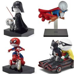Doug Hyde Masters Of Disguise Set Of Limited Edition Sculptures