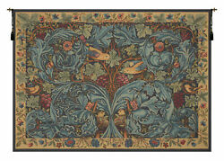 Vignes And Acanthes French Tapestry - Wall Art Hanging For Home Décor 27x36 Inch