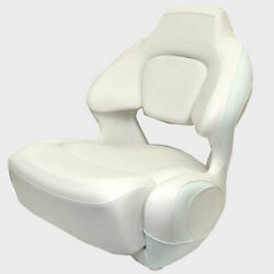 Chaparral Boat Helm Seat 31.00751 | 191 Suncoast Bolster White Ice Blue